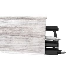 Плинтус напольный Arbiton Indo 131 филадельфия дуб 70х26 мм
