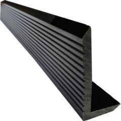 Уголок Wooden Deck Венге 4000х70х35 мм