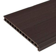 Ступень ДПК Savewood SW Radix Темно-коричневый 320х25х4000 мм (1 м.п.)