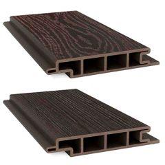 Террасная доска ДПК Savewood SW Padus Темно-коричневый (T) 155х25 мм (1 м.п.)