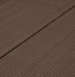Террасная доска ДПК Savewood SW Salix Темно-коричневый 144х26 мм (1 м.п.)