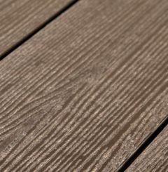 Террасная доска ДПК полнотел. Savewood SW Abies Темно-коричневый (R) 141х27 мм (1 м.п.)