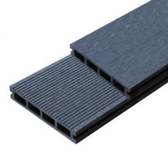 Террасная доска пустотелая из ДПК Outdoor черная 150х25х3000 мм (DPK-2110)