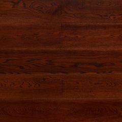 Массивная доска Amber Wood Янтарная Дуб Шоколад браш, лак м2