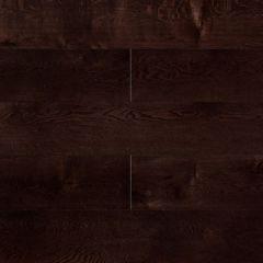 Массивная доска Amber Wood Янтарная Ясень Кофе браш, лак м2