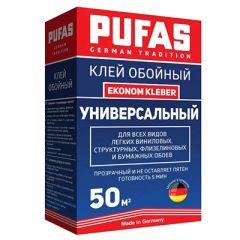 Клей для обоев Pufas универсальный Ekonom Kleber GT (50 м2) 325 г