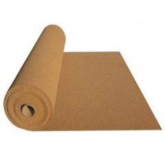 Рулонная пробковая подложка для паркета и ламината 10000х1000х6 мм (10 м2)