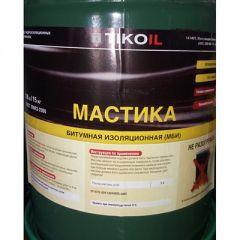 Мастика битумная Tikoil изоляционная (МБИ) 15 кг