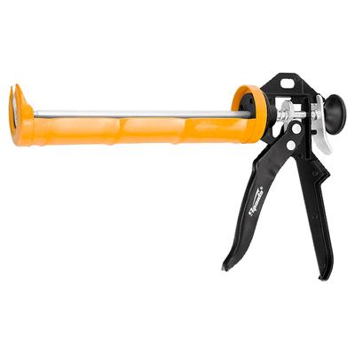 Пистолет для герметика Sparta 310 мл полуоткрытый, круглый шток 8 мм (886325)