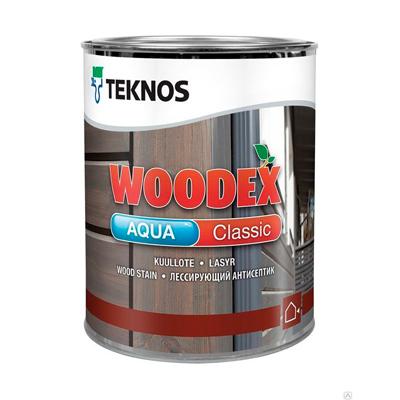 Антисептик Teknos Woodex Aqua Classic PM3 0,9 л