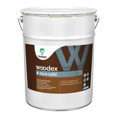 Антисептик Teknos Woodex Aqua Solid кроющий PM1 18 л