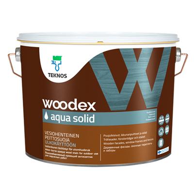 Антисептик Teknos Woodex Aqua Solid кроющий PM3 2,7 л