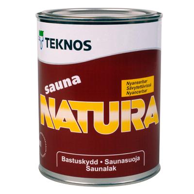 Антисептик Teknos Sauna Natura 0,9 л
