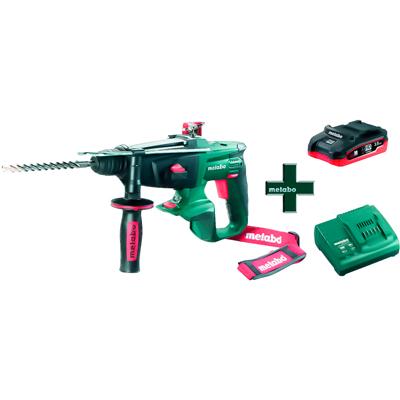 Аккумуляторный перфоратор Metabo KHA 18 LTX, 3,5 Ач LiHD, ЗУ ASC30-36 (T0332)