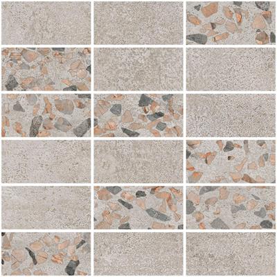 Vitra Beton-Terrazzo Мозаичный микс Темный Лапп Рект 5x10 K9498938LPR1VTE0 шт