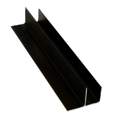 F-профиль Master Deck анодированный Черный 30х50,8х3800 мм