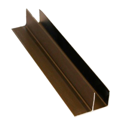 F-профиль Master Deck анодированный Бронза 30х50,8х3800 мм
