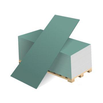 Гипсокартонный лист ГКЛВ Волма влагостойкий 2500х1200х12,5 мм