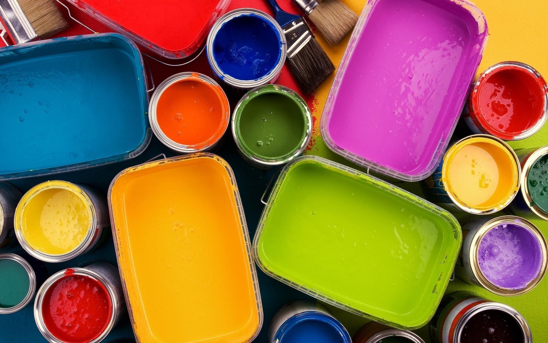 Виды и назначение красок