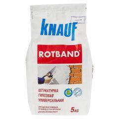 Штукатурка гипсовая универсальная Кнауф Ротбанд белый 5 кг