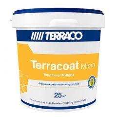 Штукатурка акриловая Террако Терракоат Микро фасадная 25 кг