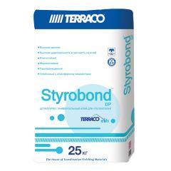 Штукатурка Террако Стайрбонд DP армирующая серая 25 кг