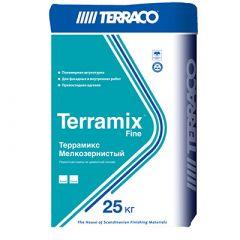 Штукатурка Террако Террамикс Мелкозернистая серая 25 кг