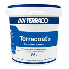 Штукатурка силиконовая Террако Терракоат Декор 25 кг
