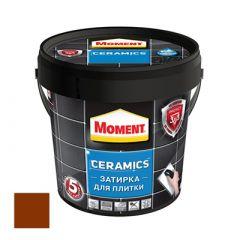 Затирка Moment Ceramics для плитки темно-коричневый 1 кг