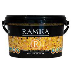 Затирка Ramika водоотталкивающая для плиточных швов лимонно-желтая 2 кг