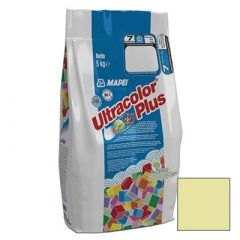 Затирка цементная Mapei Ultracolor Plus №131 ваниль 5 кг