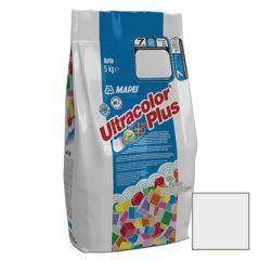 Затирка цементная Mapei Ultracolor Plus №100 белая 5 кг