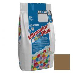 Затирка цементная Mapei Ultracolor Plus №142 коричневая 5 кг