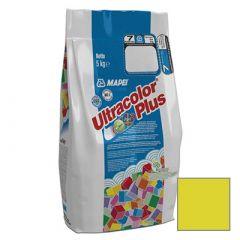 Затирка цементная Mapei Ultracolor Plus №150 желтая 5 кг