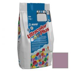 Затирка цементная Mapei Ultracolor Plus №162 фиолетовая 5 кг