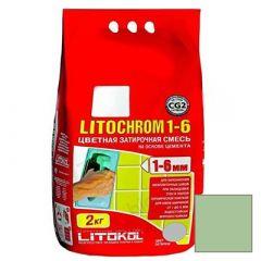 Затирка цементная Litokol Litochrom 1-6 С.610 гиада 2 кг
