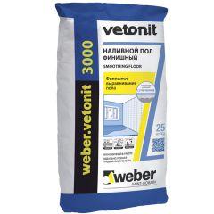 Пол наливной Weber-Vetonit 3000 25 кг