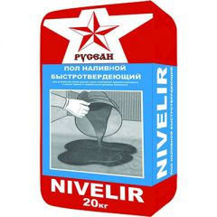 Пол наливной Русеан Nivelir 20 кг