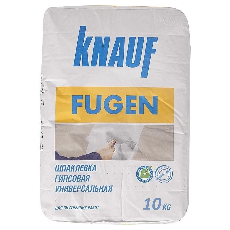 Шпатлевка гипсовая Кнауф Фуген 10 кг