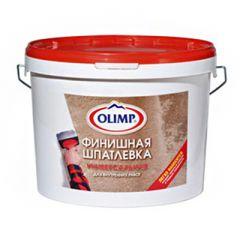 Шпатлевка акриловая финишная Олимп универсальная 16 кг