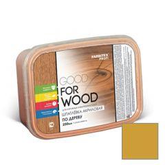 Шпатлевка акриловая Fabritex Good For Wood по дереву сосна 250 мл