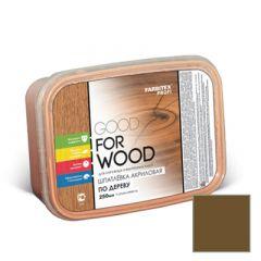 Шпатлевка акриловая Fabritex Good For Wood по дереву орех 250 мл