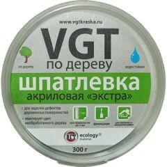 Шпатлевка акриловая по дереву VGT Экстра белая 0,3 кг