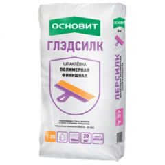 Шпатлевка полимерная Основит Глэдсилк Т-38 белый 20 кг