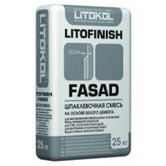 Шпатлевка цементная Litokol Litofinish Fasad 25 кг