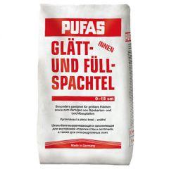 Шпатлевка гипсовая Pufas Glatt-und Fullspachtel №3 25 кг
