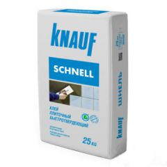 Клей для плитки Кнауф Шнельклебер 25 кг