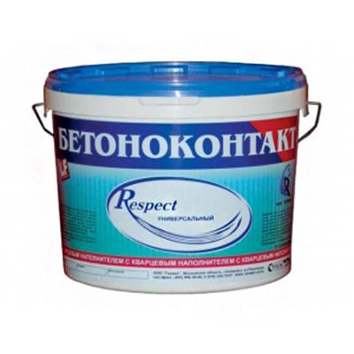 Грунтовка адгезионная Гермес Респект Бетоноконтакт универсальный 1,5 кг