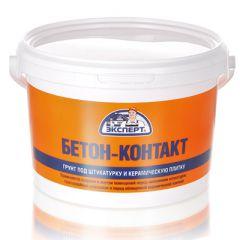 Грунтовка акриловая Эксперт Бетон-контакт адгезионная 3,5 кг
