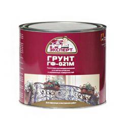 Грунтовка алкидная Экспперт ГФ 021 М красно-коричневая 2,7 кг
